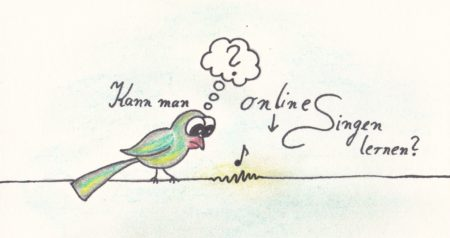 can you learn to sing online
